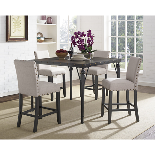 My Best Buy Dining: Arianna Transitional 5-Piece Dining Set