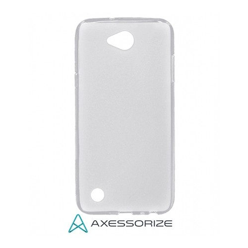 Axessorize Fitted Soft Shell Case for LG X Power 2 - Clear