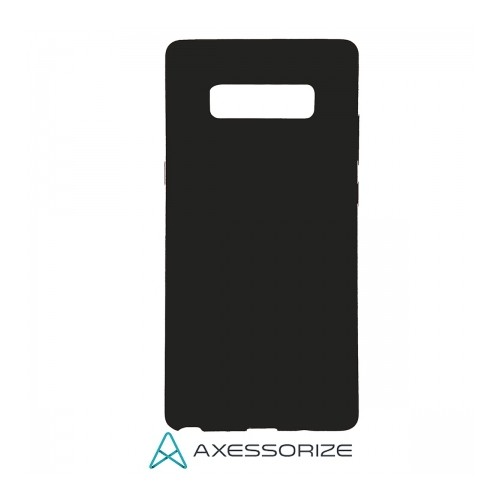 Axessorize Fitted Soft Shell Case for Samsung Galaxy Note 8 - Black
