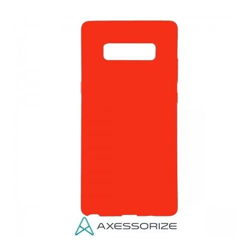 Axessorize Étui Silicone Samsung Galaxy Note 8 Rouge Bonbon