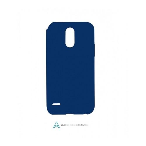 Axessorize Étui Silicone LG Stylo 3 Bleu Cobalt