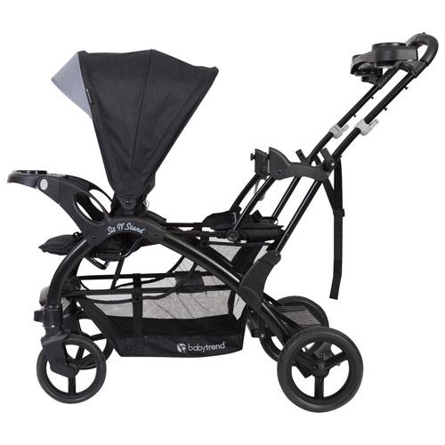 Baby Trend Sit N Stand Elite Double Stroller Peyton Best Buy Canada