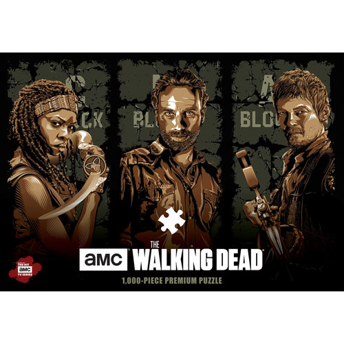Картинки по запросу Puzzles - 1000 Pcs - The Walking Dead - Fight The Dead Fear The Living
