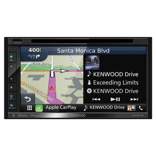 kenwood dnx574s 2 din av navigation system with bluetooth. Black Bedroom Furniture Sets. Home Design Ideas
