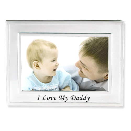 IceCarats I Love My Daddy 6x4 Photo Frame Religious Baptism ...