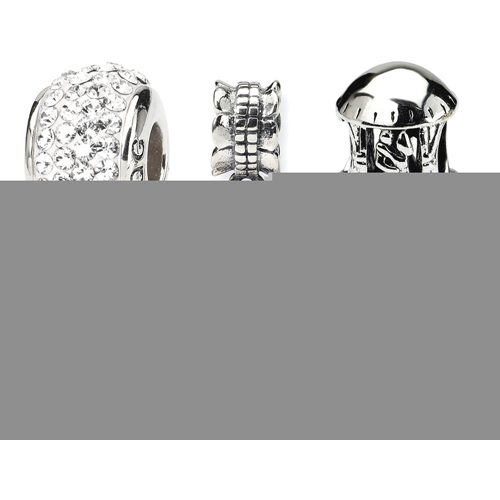 IceCarats 925 Sterling Silver Reflections Wedding Anniversary Boxed Bead Set Story
