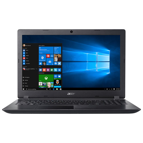 "Acer Aspire 3 15.6"" Laptop - Black (AMD A9-9420 / 1TB HDD / 6GB RAM / Windows 10)"