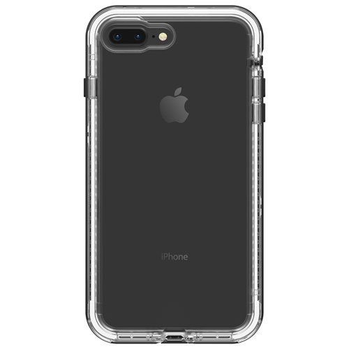 LifeProof NEXT Fitted Hard Shell Case for iPhone 8 Plus 7 Plus - Black  Crystal 470c7df79