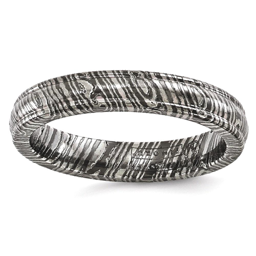 IceCarats Edward Mirell Timoku 4mm Domed Ridged Edge Wedding Ring Band Size 12.00 Men Classic Fancy