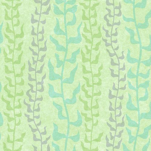York Wallcoverings Disney Pixar Dory Seaweed Sure Strip Wallpaper - Green - Online Only