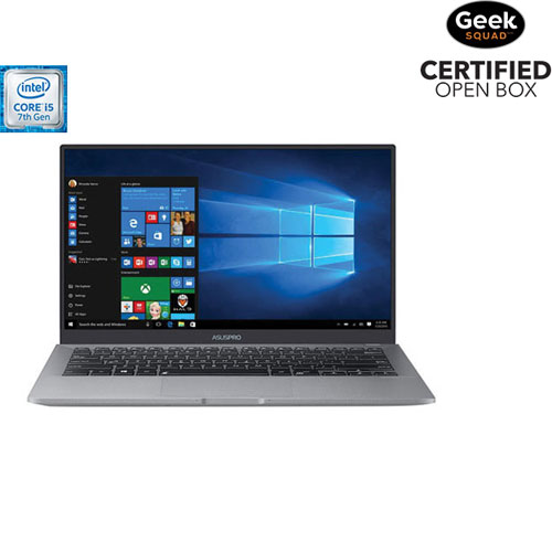 "ASUS B9440 14"" Laptop - Grey Magnesium (i5-7200U/512GB SSD/8GB RAM/Windows 10) - English - Open Box"