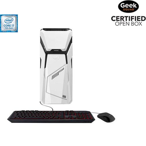 ASUS ROG Strix Gaming PC (i7-7700/1TB HDD/128GB SSD/16GB RAM/NVIDIA GeForce GTX1060) - Open Box
