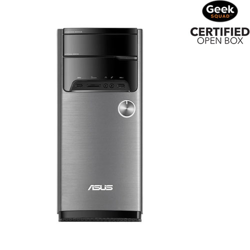 ASUS M32 Desktop PC (AMD A10-7800/2TB HDD/8GB RAM/Windows 10) - Open Box
