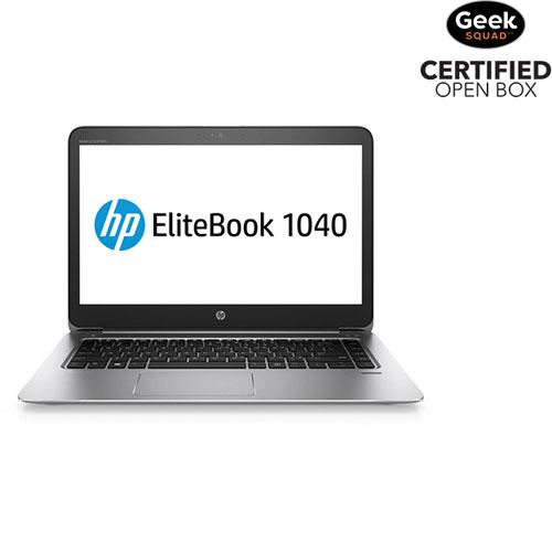 "HP EliteBook 1040 G3 14"" Laptop (Intel Core i7 / 256GB / 16GB RAM / Windows 10) - Open Box"