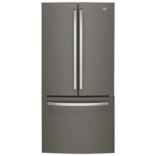R frig rateur deux portes prof de comptoir del 18 6 pi 33 po de ge gwe19jmles - Refrigerateur deux portes ...
