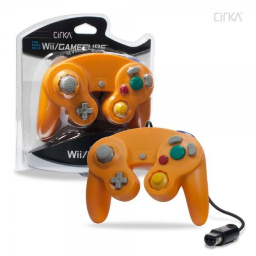 CONTROLLER GAMECUBE/WII - ORANGE CIRKA