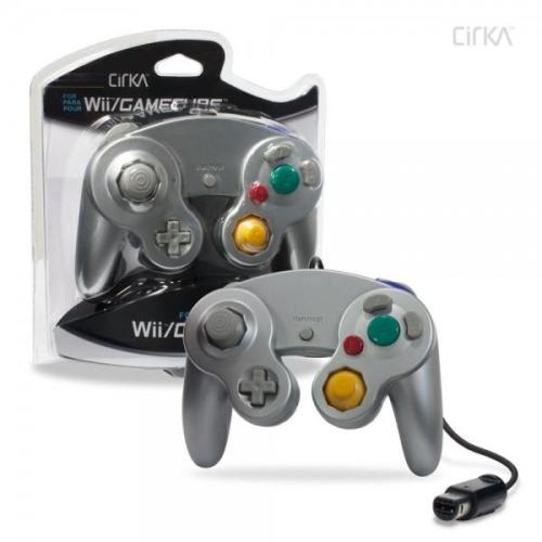 CONTROLLER GAMECUBE/WII - SILVER CIRKA