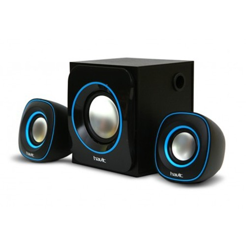 Havit HV-SK450 MultiMedia 2.1pcs Speakers, 3.5mm with USB power (Black color)