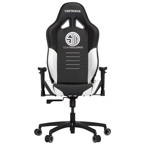 Vertagear S-Line TSM Special Edition Faux Leather Gaming Chair - Black/White
