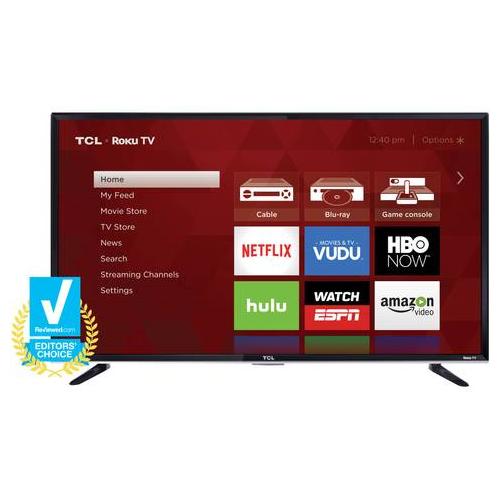 TCL 50FS3800 50 INCH 1080P 120 HZ LED ROKU SMART TV - REFURBISHED