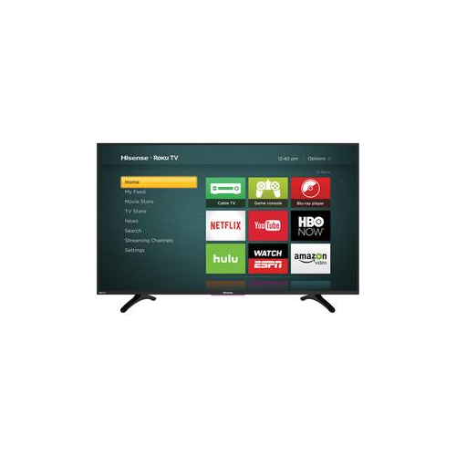 "HISENSE 50"" 1080P 60HZ LED ROKU SMART HDTV (50H4C) - REFURBISHED"