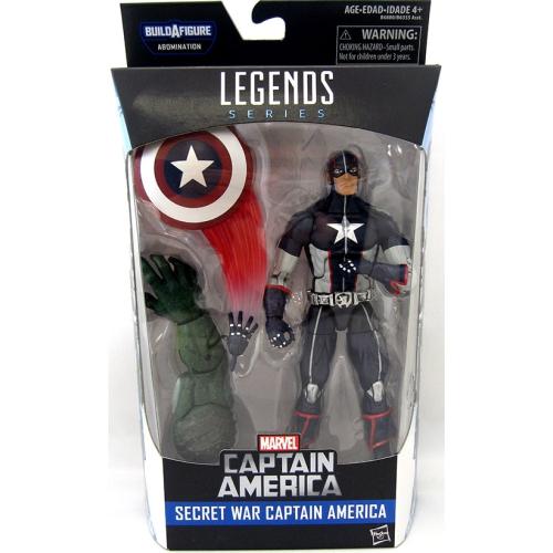 Marvel Legends Captain America Civil War 6 Inch Action Figure Abomination Series - Secret War Captain America