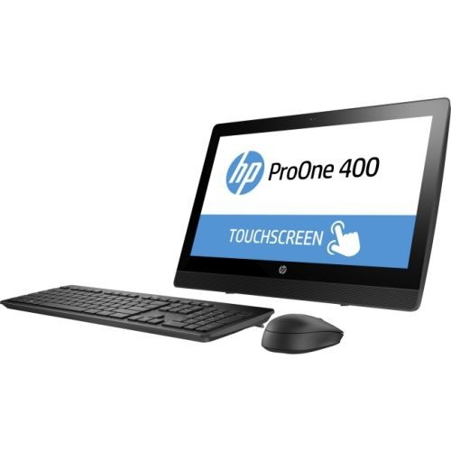 "HP Business Desktop ProOne 400 G3 All-in-One Computer - Intel Pentium G4560T 2.90 GHz - 4GB DDR4 SDRAM - 500GB HDD - 20"" 1600"