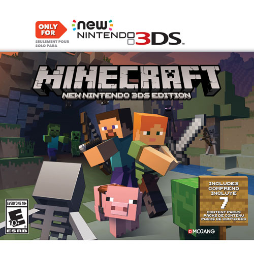 Purchase Minecraft Pc Game : Minecraft ds jeux pour nintendo xl et