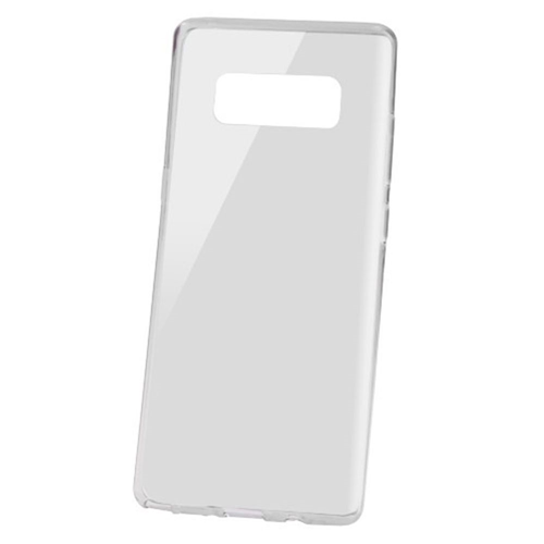 Insten Rubber Transparent Case For Samsung Galaxy Note 8 - Smoke