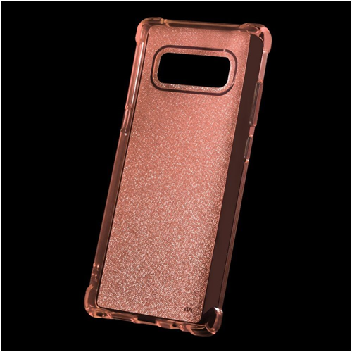 Insten Sheer Glitter TPU Case For Samsung Galaxy Note 8 - Rose Gold