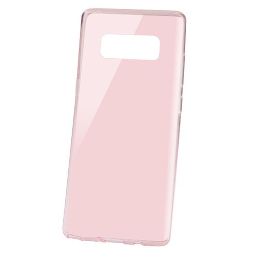 Insten Gel Transparent Case For Samsung Galaxy Note 8 - Rose Gold