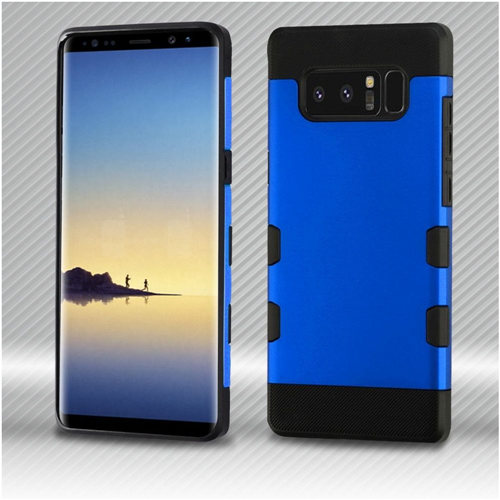 Insten Hard Dual Layer Plastic TPU Case For Samsung Galaxy Note 8 - Blue/Black