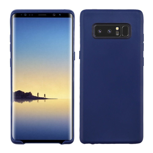 Insten Gel Matte Cover Case For Samsung Galaxy Note 8 - Blue