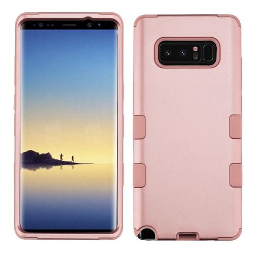 Insten Tuff Hard Hybrid Plastic TPU Case For Samsung Galaxy Note 8 - Rose Gold