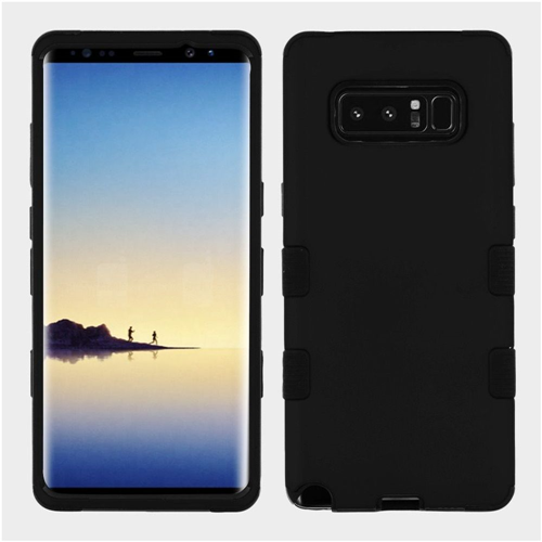 Insten Tuff Hard Dual Layer TPU Case For Samsung Galaxy Note 8 - Black
