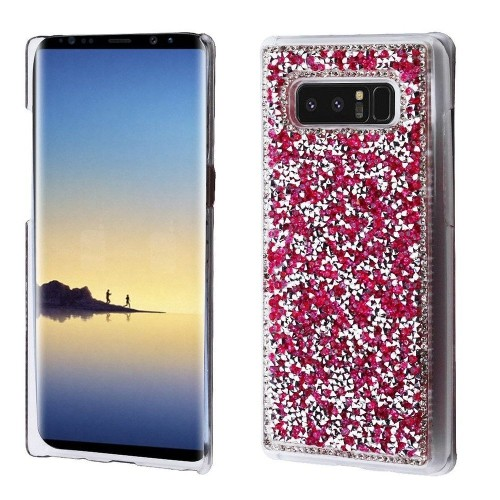 Insten Fitted Hard Shell Case for Samsung Galaxy Note 8 - Hot Pink