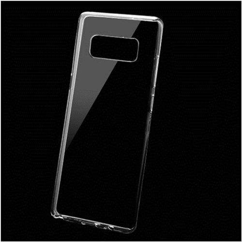 Insten Rubber Case For Samsung Galaxy Note 8 - Clear