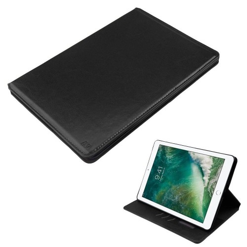 "Insten Flip Leather Fabric Cover Case w/card holder/Photo Display For Apple iPad Pro 10.5"" - Black"
