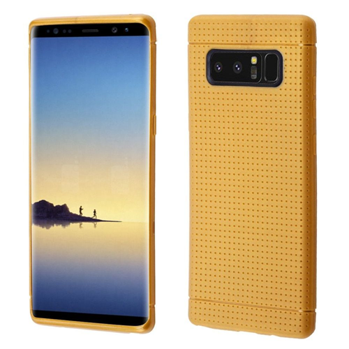 Insten Lattice Points TPU Case For Samsung Galaxy Note 8 - Gold
