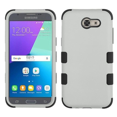 Insten Hard Case For Samsung Galaxy Amp Prime 2/Express Prime 2/J3 (2017)/J3 Luna Pro, Gray