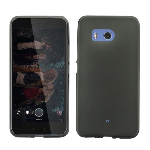 Insten Fitted Soft Shell Case for HTC U11 - Black