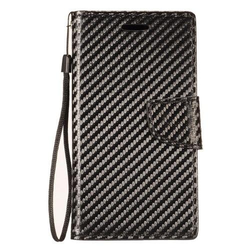 Insten Wallet Case for Samsung Galaxy Note 8 - Black