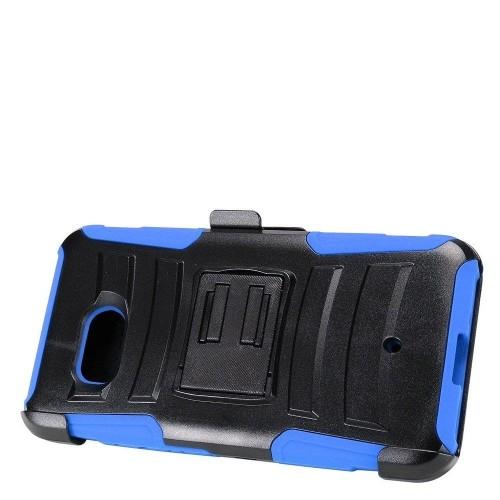 Insten Holster Case for HTC U11 - Black;Blue