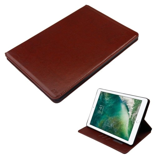 "Insten Book-Style Leather Fabric Cover Case w/card holder/Photo Display For iPad Pro 10.5"", Brown"