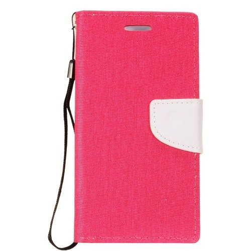 Insten Fitted Hard Shell Case for Samsung Galaxy Note 8 - Hot Pink;White