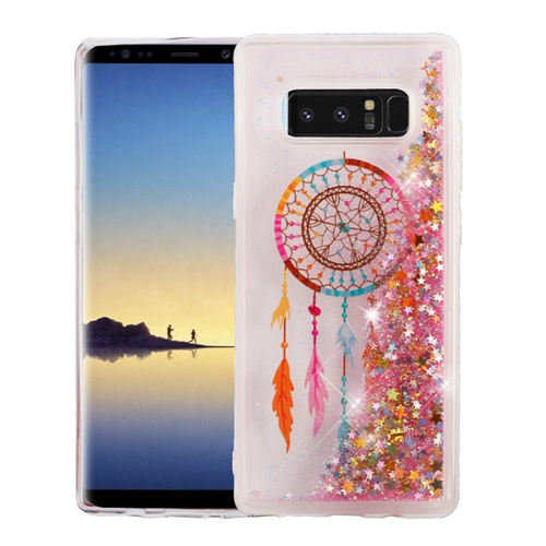 Insten Quicksand Glitter Dreamcatcher Hard Plastic TPU Case For Samsung Galaxy Note 8 - Multi-Color