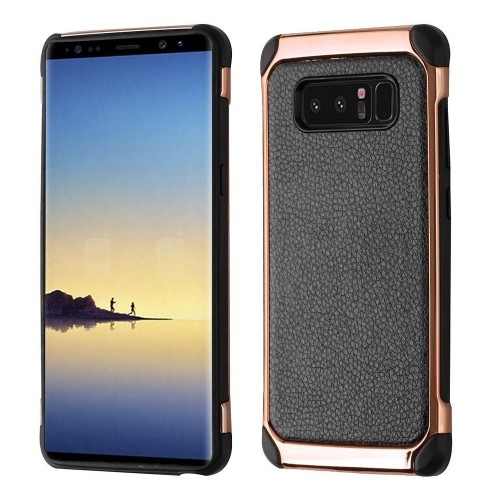 Insten Fitted Soft Shell Case for Samsung Galaxy Note 8 - Black;Rose Gold