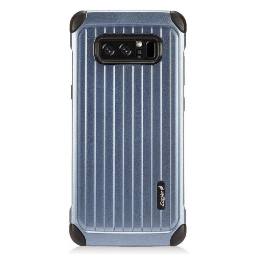 Insten Fitted Hard Shell Case for Samsung Galaxy Note 8 - Black;Blue