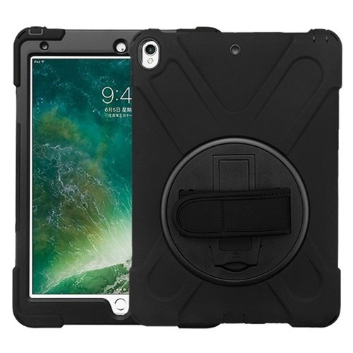 "Insten Hard Dual Layer Plastic TPU Case w/stand For Apple iPad Pro 10.5"" - Black"