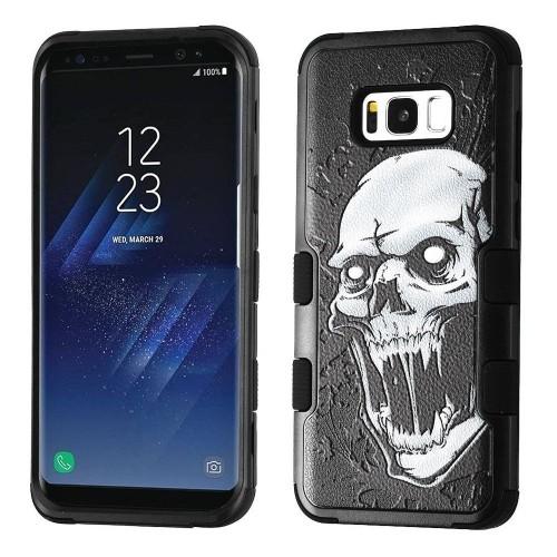 Insten Tuff Vampire Hard Dual Layer Plastic TPU Case For Samsung Galaxy S8 Plus - Black